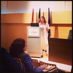 Cazada en plena ponencia por @jurraga gracias por la foto