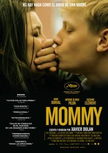 Cartel de la Película Mommy. Fuente: Google Imágenes