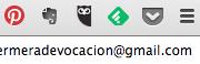 Mis extensiones en Chrome