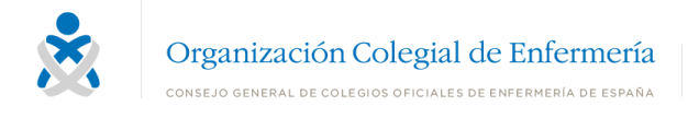 Logo del Consejo General de Enfermería