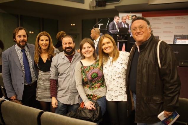 Con Javier, Nuria, Fernando, Rut y Manuel