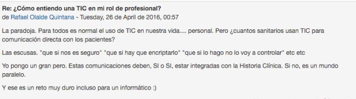 profesionales y las tic