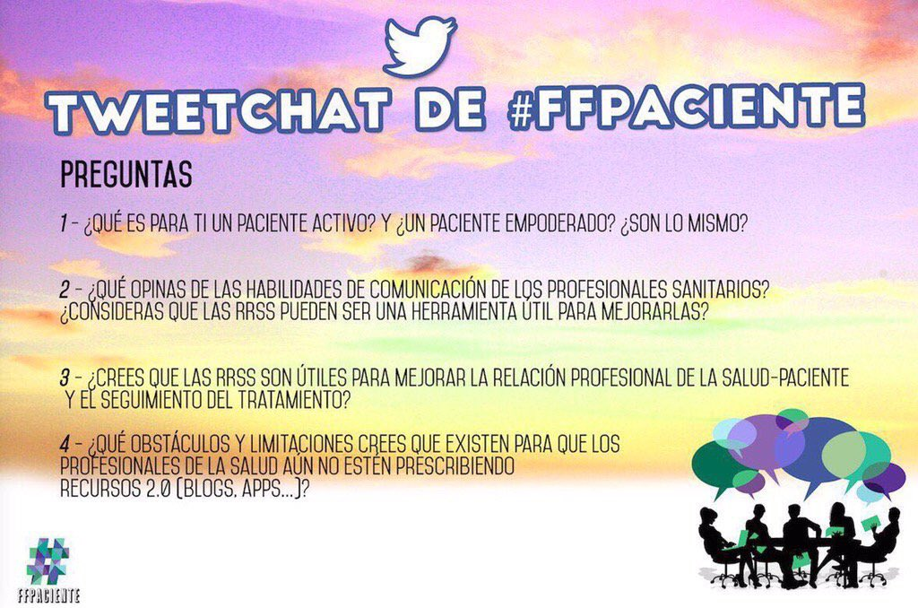 #FFpaciente Tweetchat