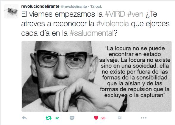 Tweet de @revoldelirante