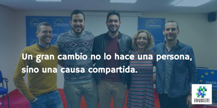 Foto de @soriano_p en la entrada de #FFpaciente