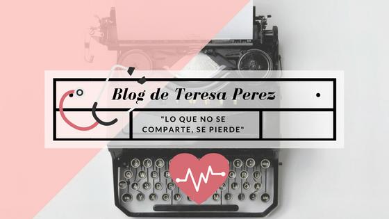 Mi nuevo Proyecto de Salud Digital: nace la Web Teresa Perez y el blog (rectificación)